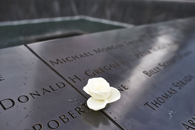 Names of some of the people who lost their lives.