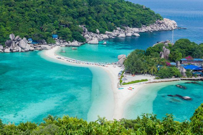 Koh Nangyuan, Thailand.